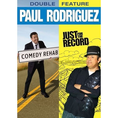 Paul Rodriguez Double Feature: Comedy Rehab/Just for the Record [2 Discs] [DVD]