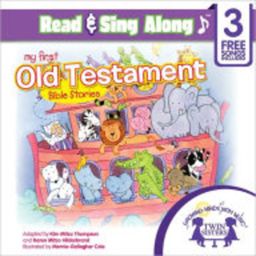 My First Old Testamment Bible Stories Read & Sing Along [Includes 3 Songs]