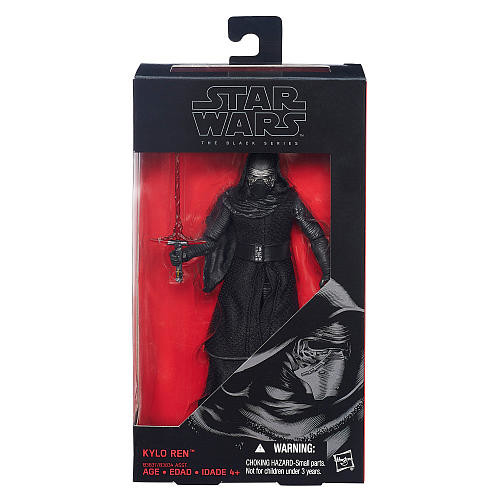 Star Wars: Episode VII The Force Awakens The Black Series 6-in. Kylo Ren Figure by Hasbro