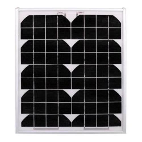 Ramsond 10-Watt 12-Volt Monocrystalline PV Solar Panel