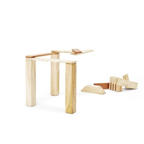 Tegu Natural 42-Piece Explorer Set