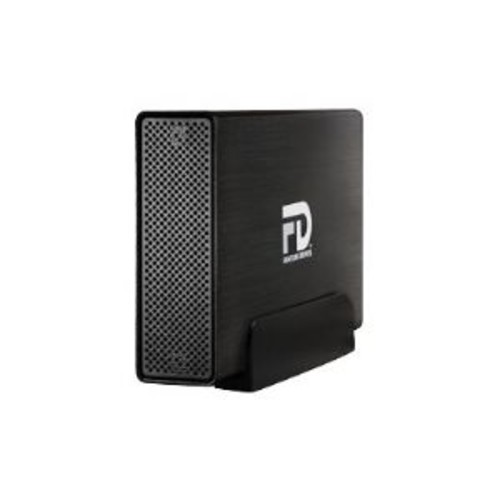 Fantom Drives Gforce3 MegaDisk - Hard drive - 8 TB - external ( desktop ) - USB 3.0 / eSATA-300 - brushed black