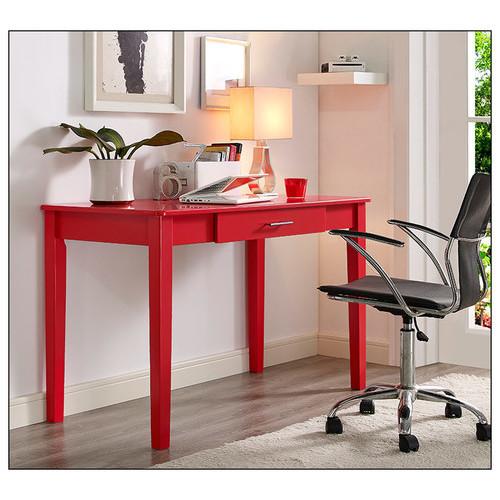 Walker Edison - Computer Desk - Red