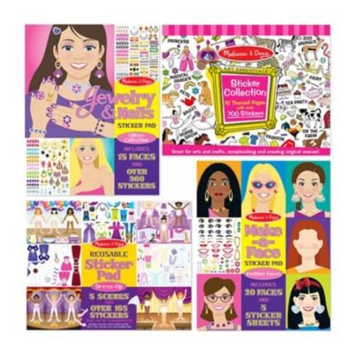 Melissa & Doug Girls Sticker Bundle (Set of 4)
