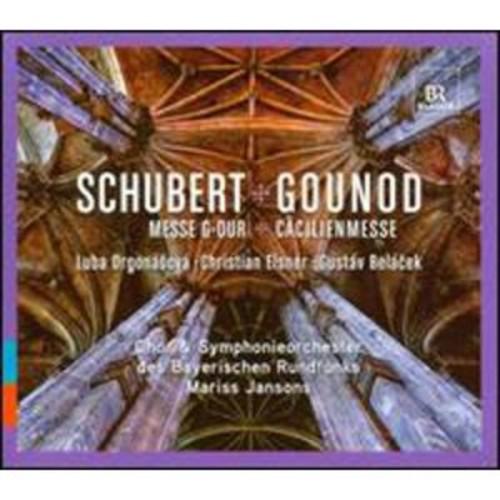 Schubert: Mass in G minor; Gounod: St. Cecilia Mass By Mariss Jansons (Audio CD)