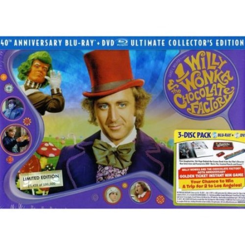Willy Wonka And The Chocolate Factory: Ultimate Collector's Edition (Blu-ray + DVD) (Widescreen)