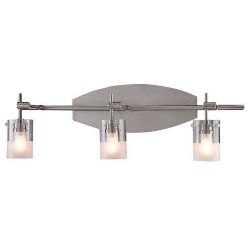 George Kovacs by Minka P5013-084 3-Light Bath Light - Brushed Nickel - 22W in.