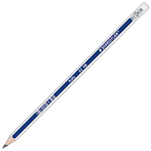 Staedtler Rally Pencils, Blue/White, Pack Of 12