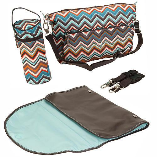 Kalencom Sidekick Diaper Bag - Safari
