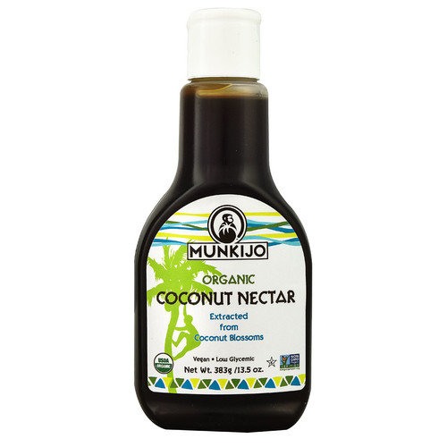 Munkijo Organic Coconut Nectar -- 13.5 fl oz