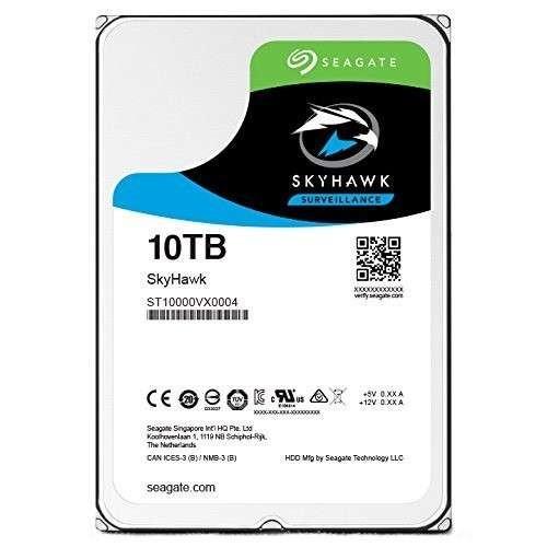 Seagate SKYHAWK 10TB Surveillance Hard Drive - 10TB Capacity, Internal, 3.5