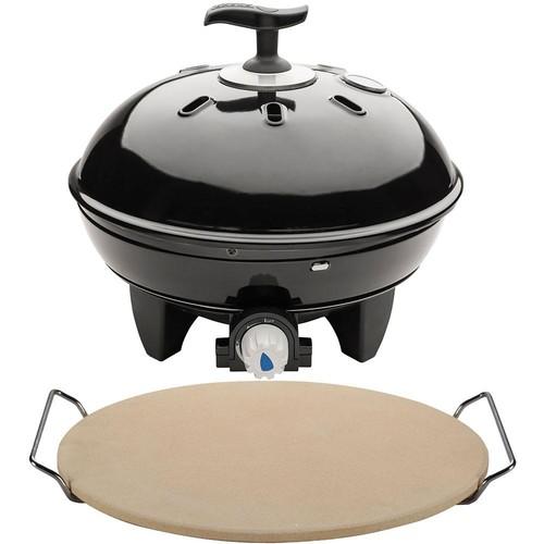 Cadac Citi Chef 40 Portable Tabletop Propane Gas Grill in Black