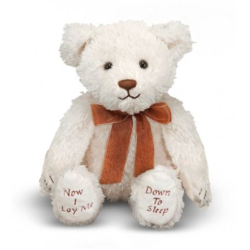 Melissa & Doug Bedtime Prayer Bear Stuffed Animal