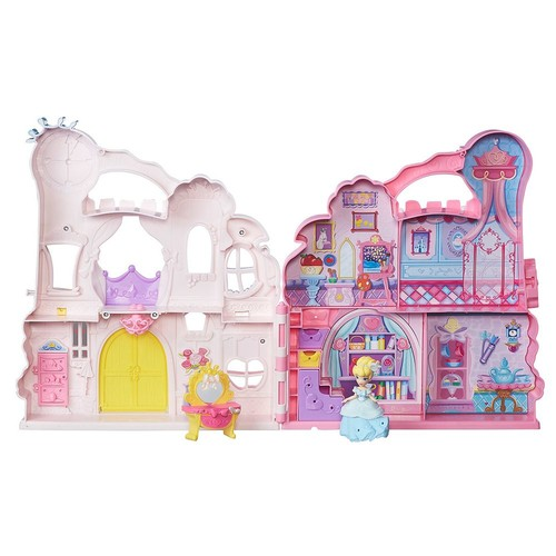 Disney Princess Little Kingdom Play 'n Carry Castle Set