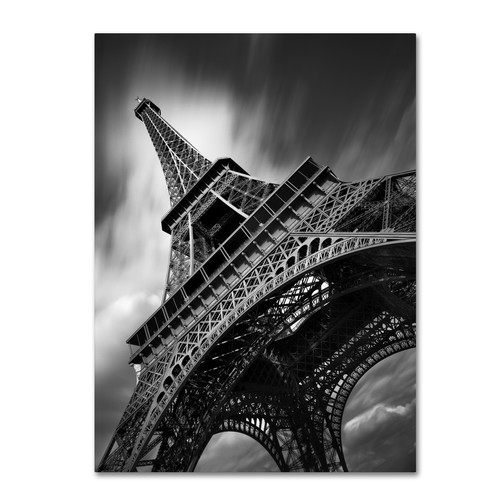 Trademark Global Moises Levy 'Eiffel Tower Study II' Canvas Art