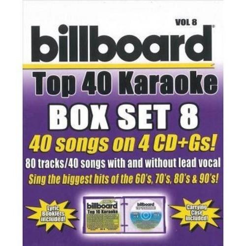 Party Tyme Karaoke: Billboard Top 40 Karaoke Box Set, Vol. 8 - [Audio CD]