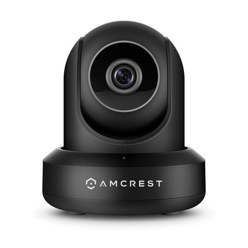Amcrest ProHD 1080p POE IP Camera with Pan/Tilt,2-Way Audio, (1920TVL) at 30FPS,90 Viewing Angle, Night Vision (Black)