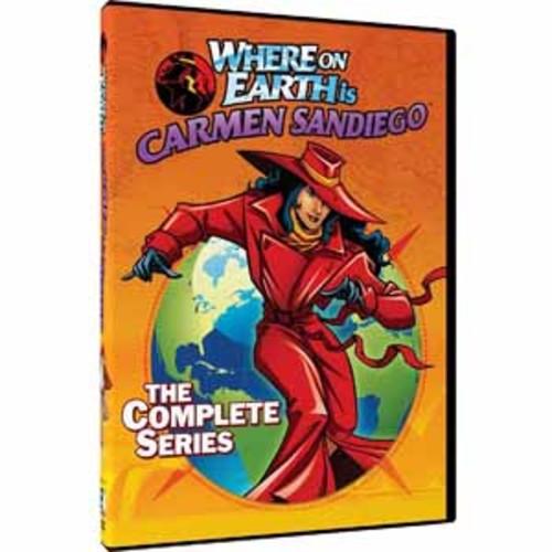 Where On Earth Is Carmen Sandiego:Com (DVD)