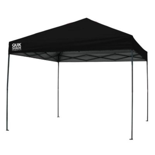 Quik Shade Expedition 100 Team Colors 10 ft. x 10 ft. Black Instant Canopy