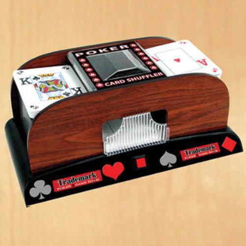 Trademark Global Inc Wooden Card Shuffler