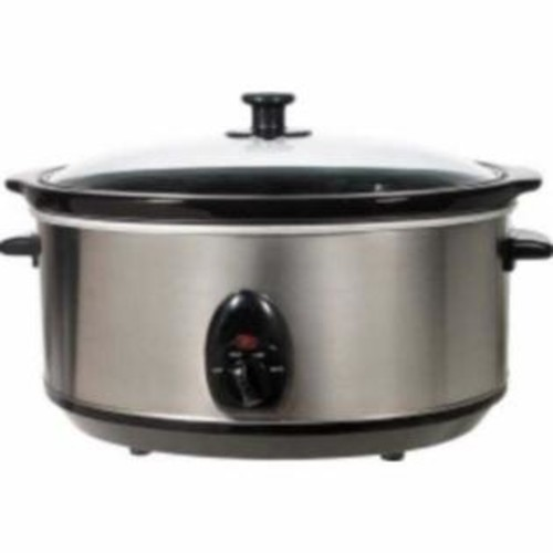 Brentwood Appliances SC-165W 8 quart Slow Cooker, White