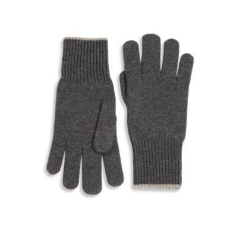 BRUNELLO CUCINELLI Cashmere Ribbed Gloves