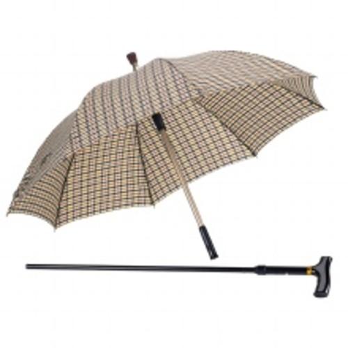 Drive Medical Umbrella Cane T Handle Black