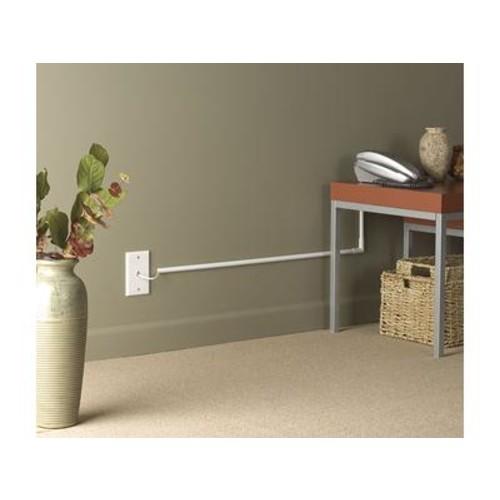 Wiremold CordMate Cord Organizer (CMK10) Conceal audio/video cables along your walls