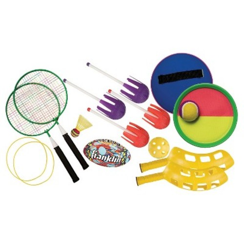 Franklin Sports 5 Game Beach Bag Combo Set