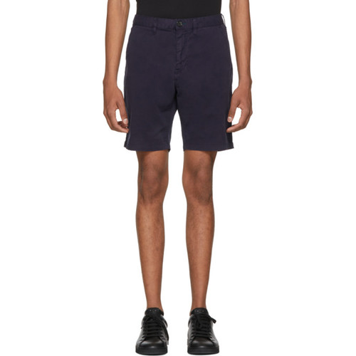 Navy Standard Fit Shorts