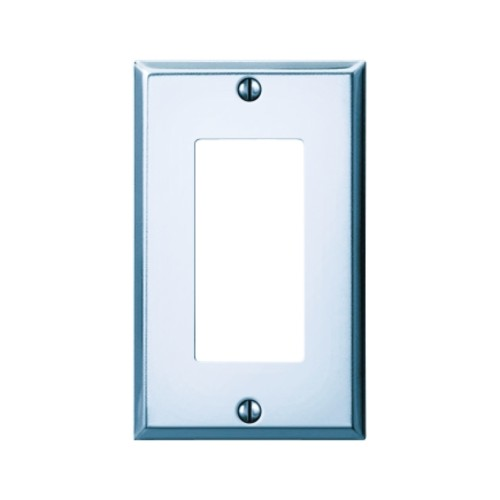 Amerelle 1 Rocker/GFCI Pro-Polished Chrome Stamped Steel Wall Plate (C983RCH)
