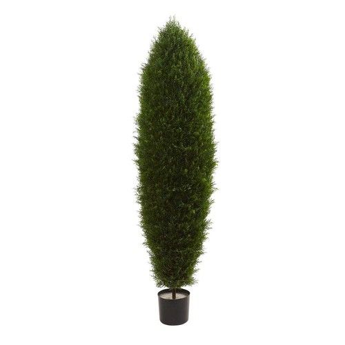 Nearly Natural 5 ft. UV Resistant Indoor/Outdoor Cypress Tree