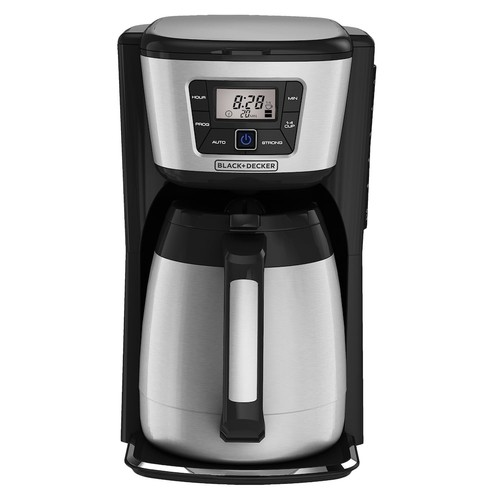 Black & Decker Thermal Programmable 12-Cup Coffee Maker & Mug