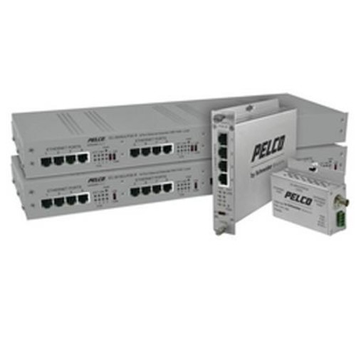 EC-3016ULPOE-R EthernetConnect Local Cat5/Cat5e/Cat6 16-Port True PoE to 30W Rack-Mount UTP Extender