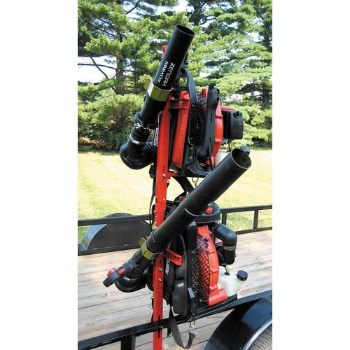 Backpack Blower Holder 2BH and Trimmer Rack 3TR Package weed eater trailer
