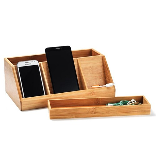 Avon Living Bamboo Multi-Device Charging Dock