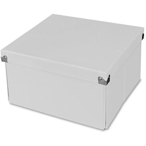 Samsill Pop n' Store Medium Square Box - White - 10.63