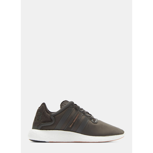 Yohji Run Sneakers in Olive Green and White