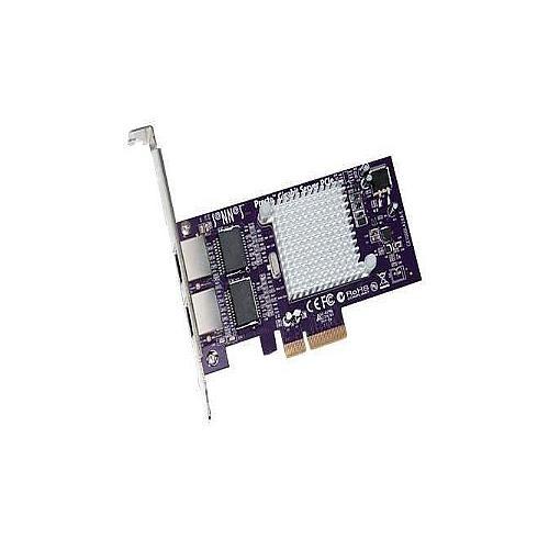 Sonnet Technologies Presto Gigabit Ethernet Server 2-port PCIe Card
