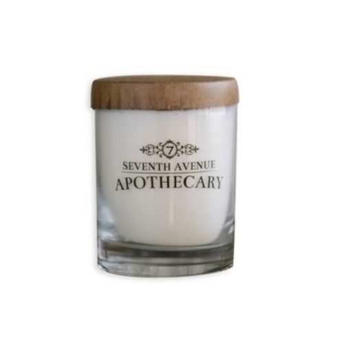 Seventh Avenue Apothecary Bayshore Minted Grapefruit + Sage Hand Poured 2 Wick Glass Jar Soy Candle