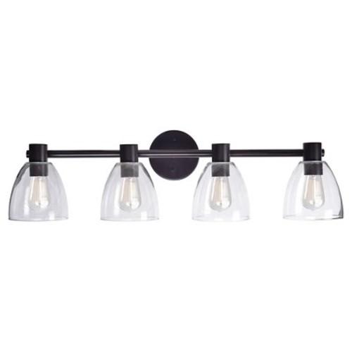 Kenroy Home Edis 4 Light Vanity Wall Lights
