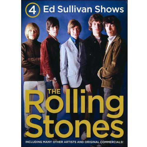 4 Ed Sullivan Shows Starring the Rolling Stones [DVD]