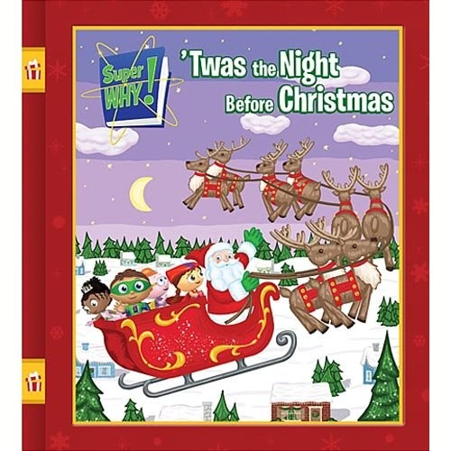 Super Why!: 'Twas the Night Before Christmas and Other Fairytale Adventures [DVD]