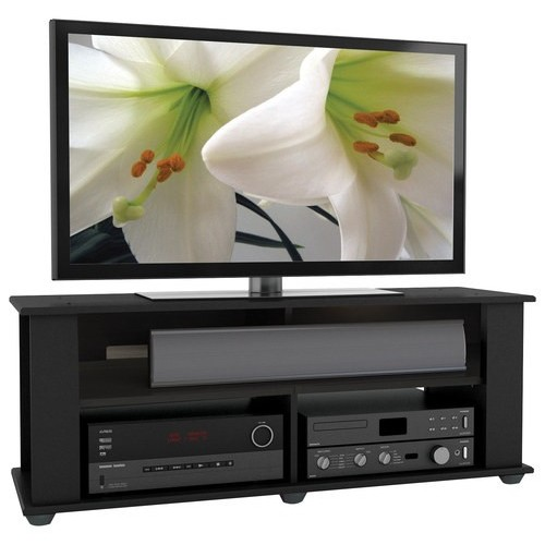 CorLiving - Bakersfield TV Stand for Most Flat-Panel TVs Up to 55