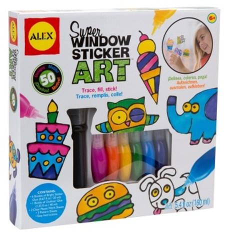 Alex Toys Craft Super Window Sticker Art