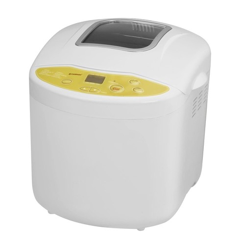 Breadman TR520 Programmable Bread Maker for 1, 1  , and 2-Pound Loaves, Cream [White]