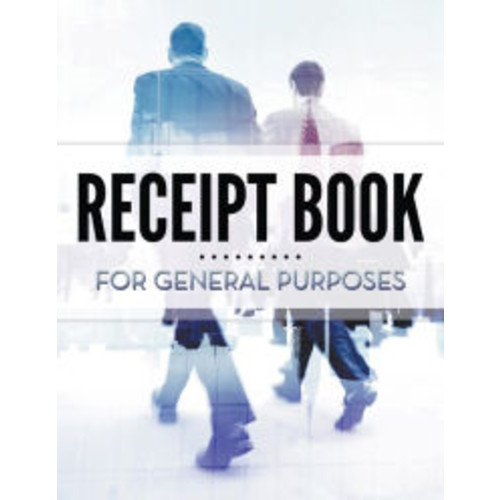 Receipt Book For General Purposes