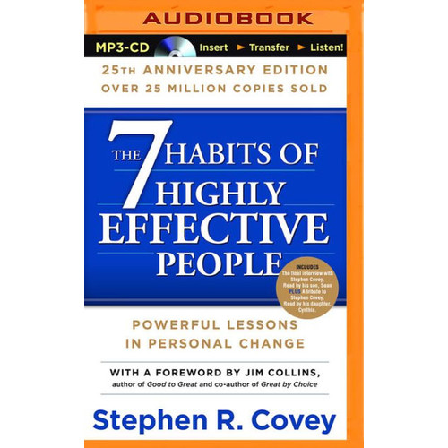 The 7 Habits Of Highly Effective People: 25th Anniversary Edition (Turtleback School & Library Binding Edition)