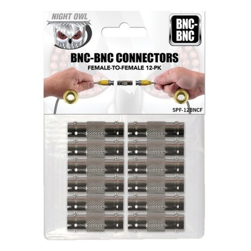 Night Owl 12 Pack BNC-BNC Cable Connectors