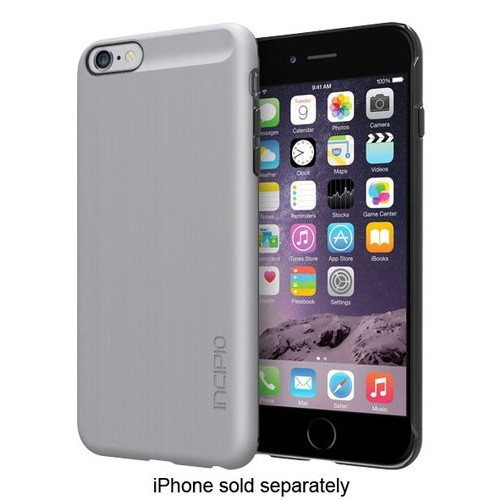 Incipio - feather SHINE Hard Shell Case for Apple iPhone 6 Plus - Silver